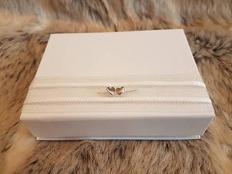 Krabička srdiečka na svadobný USB kľúč - Obrázok č. 1