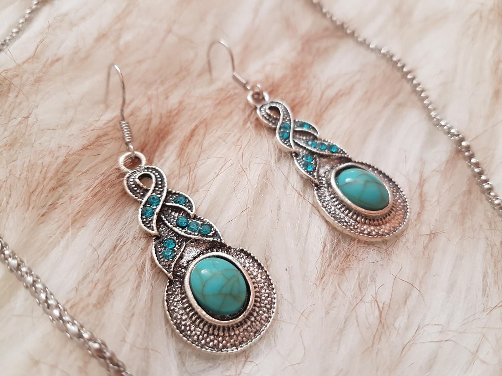 náhrdelník s náušnicami - Obrázok č. 4