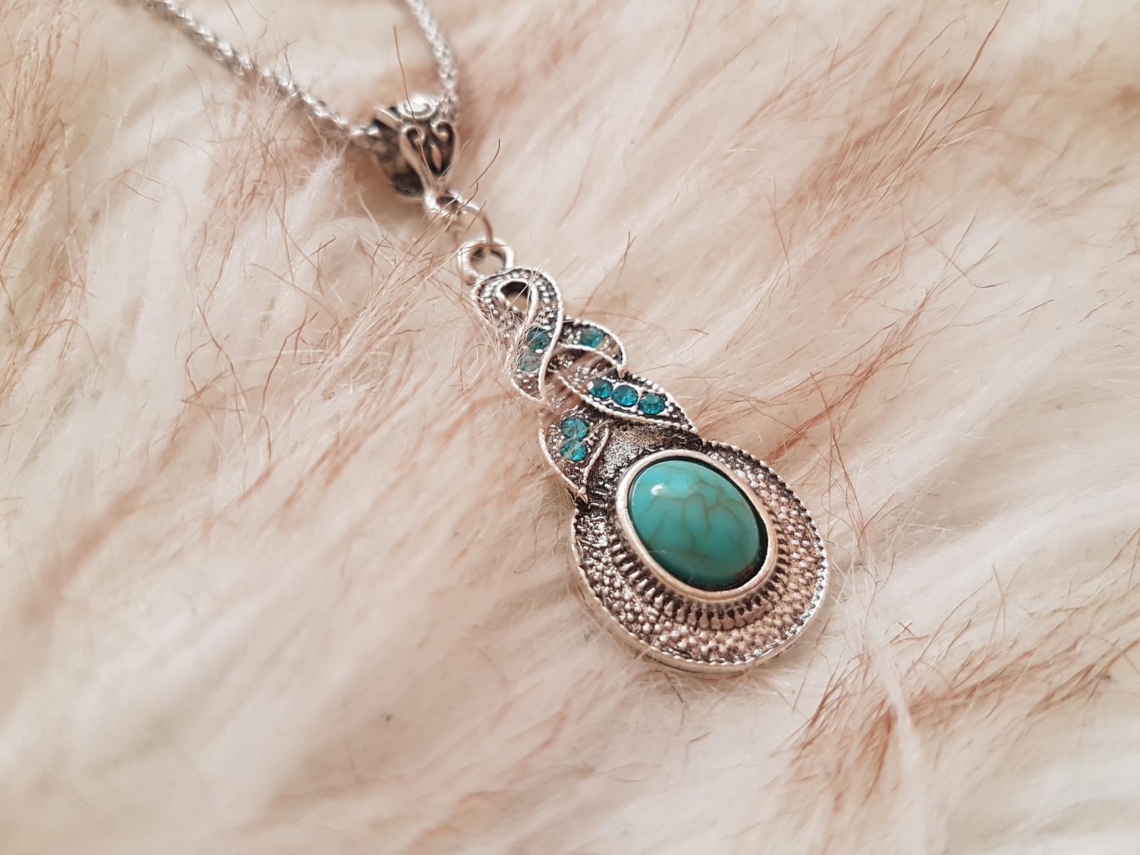 náhrdelník s náušnicami - Obrázok č. 3