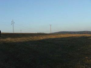 V květnu 2008 jsme koupili pozemek 1057 m2.
