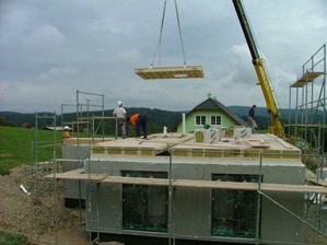 První den stavby