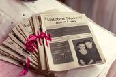 Svatební noviny na míru,