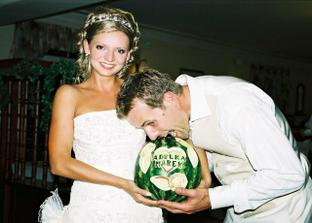takyto krasny melon nam urobil moj bratranec Adamko