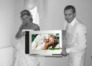 jeden zo svadobnych darov (LCD) - DAKUJEME!