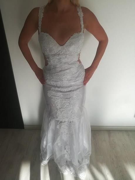 Svatební šaty vel. 38 - Obrázek č. 4