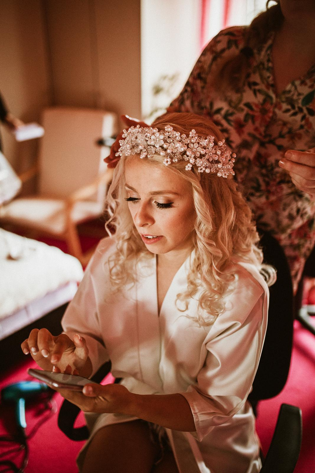 NÁŠ deň - Veve{{_AND_}}Lučko ♥ - Manažovať bolo nutné aj v deň svadby :D