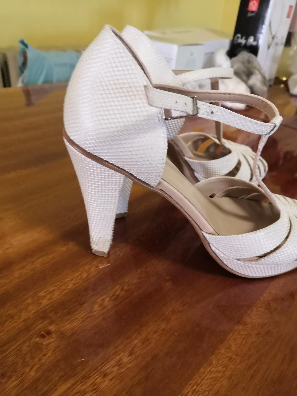 Svadobné sandálky - Obrázok č. 2