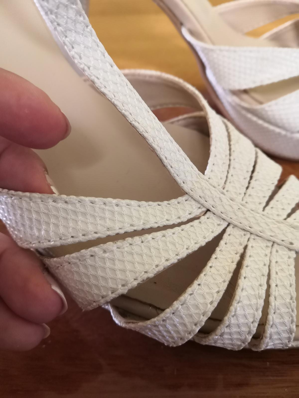 Svadobné sandálky - Obrázok č. 3