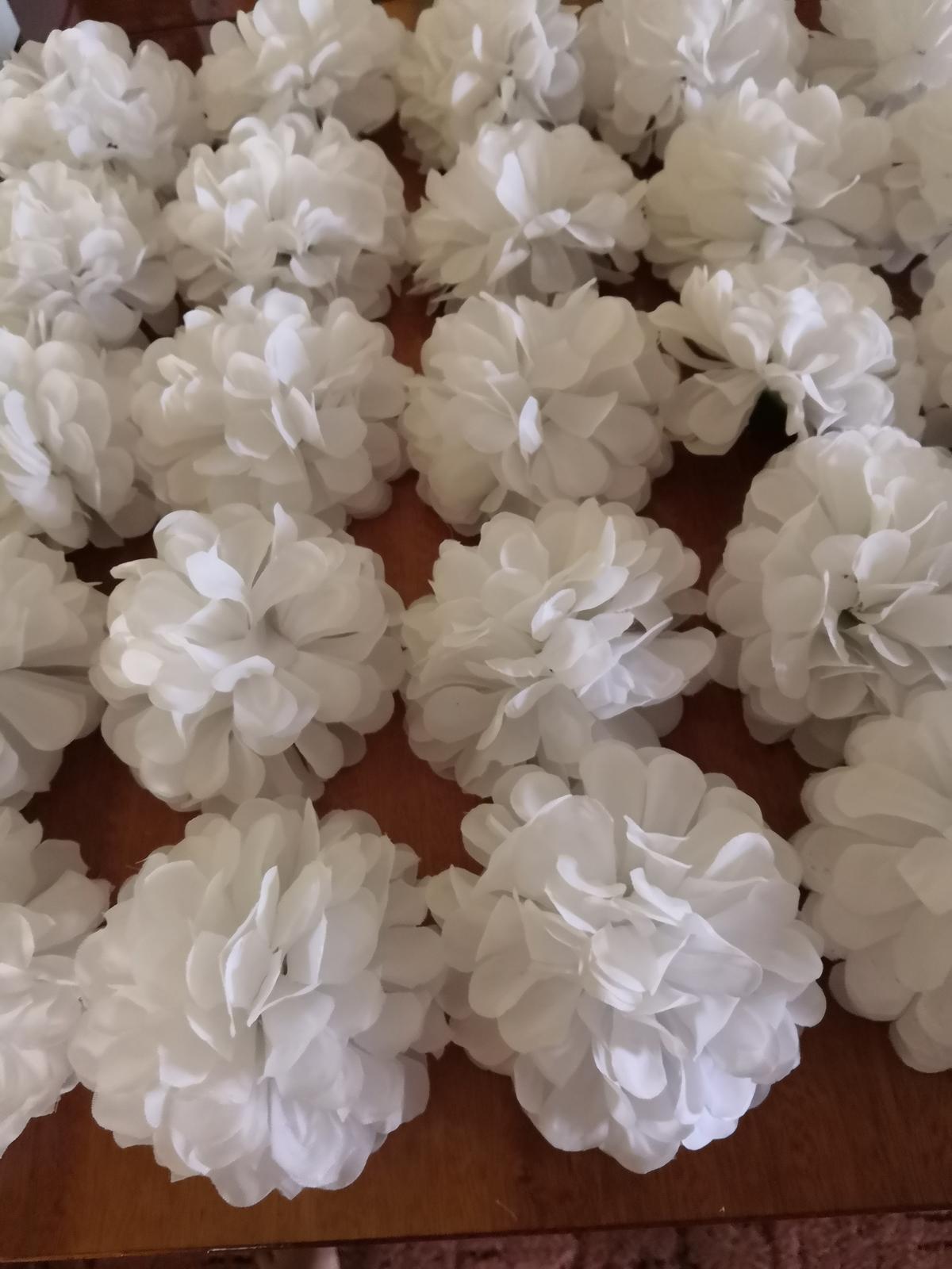 Kvet biely (chryzamtéma) - Obrázok č. 2