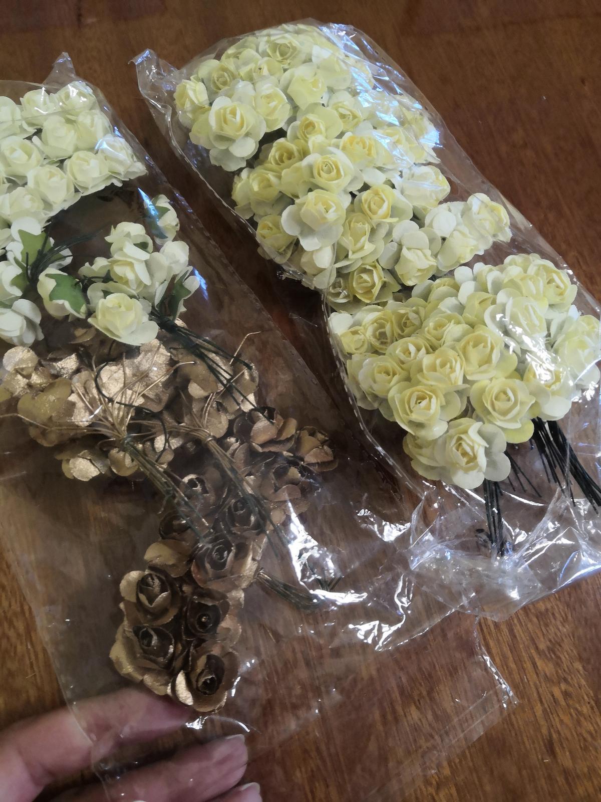 Kvet ivory (mini ružička) - Obrázok č. 2