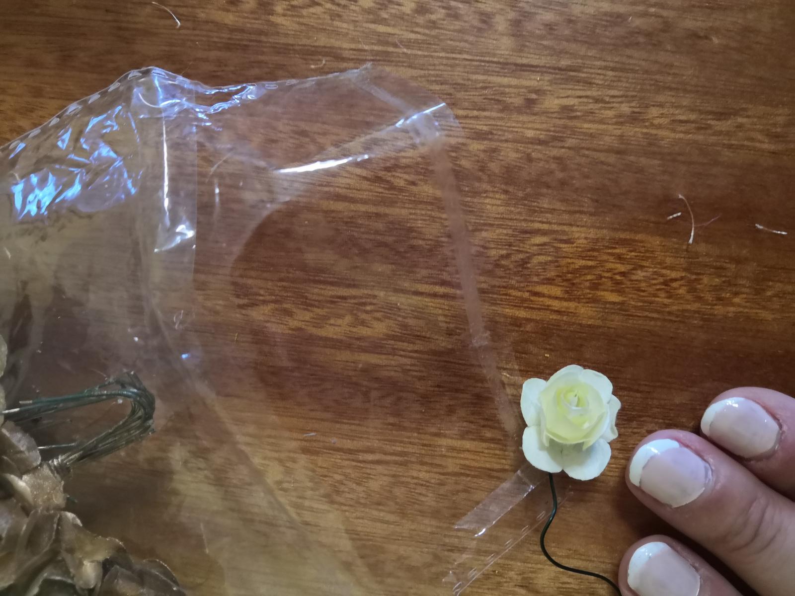 Kvet ivory (mini ružička) - Obrázok č. 3