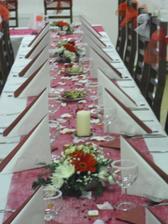 Vlastní výroba svatební tabule..