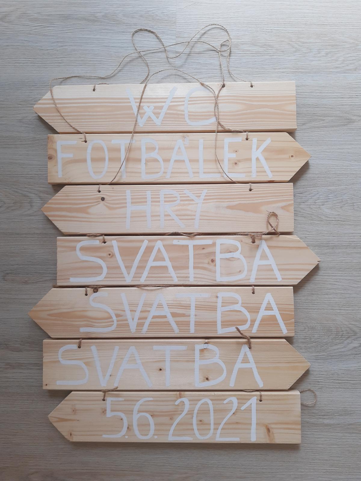 dřevěné ukazatele - Obrázek č. 1