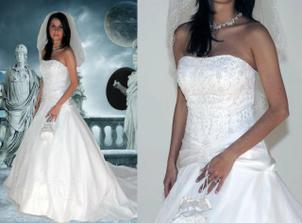 šaty které mám vybrané na 2. modelce