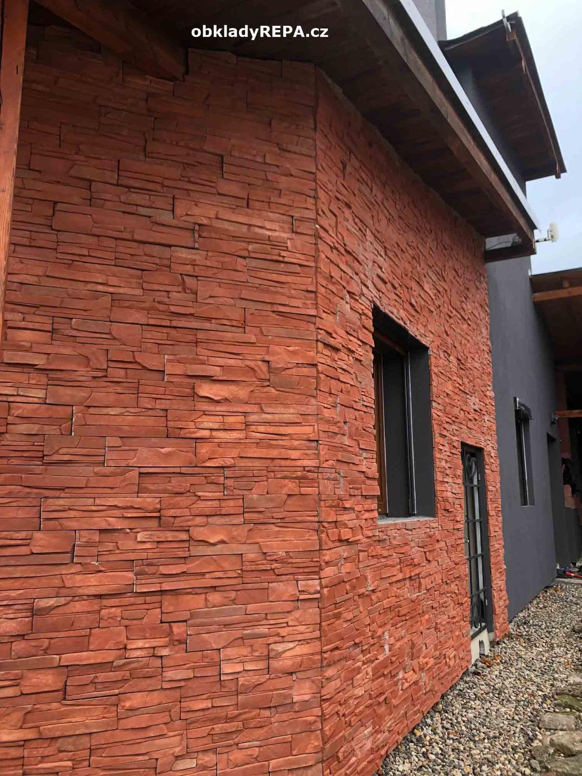 obkladyrepa - Věrná kopie přírodního kamene z betonového konglomerátu.