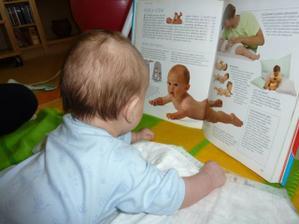 je to studijní typ po tatínkovi :-))