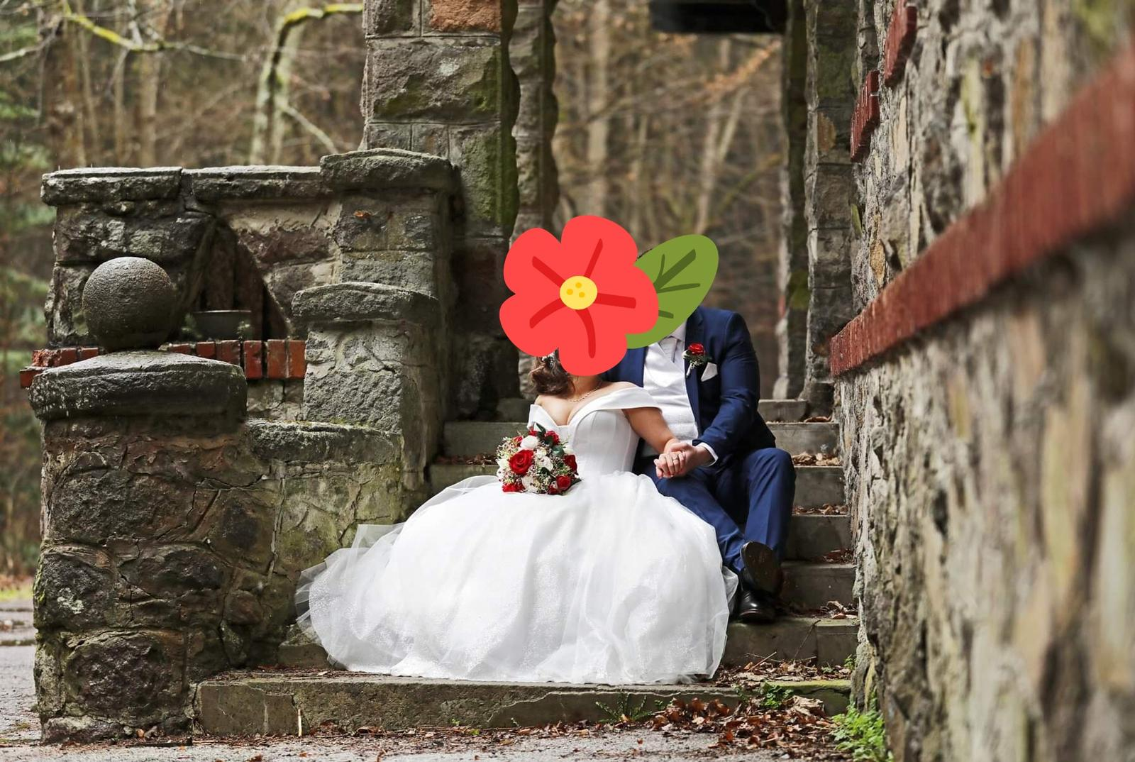 luxusné svadobné šaty - Obrázok č. 3