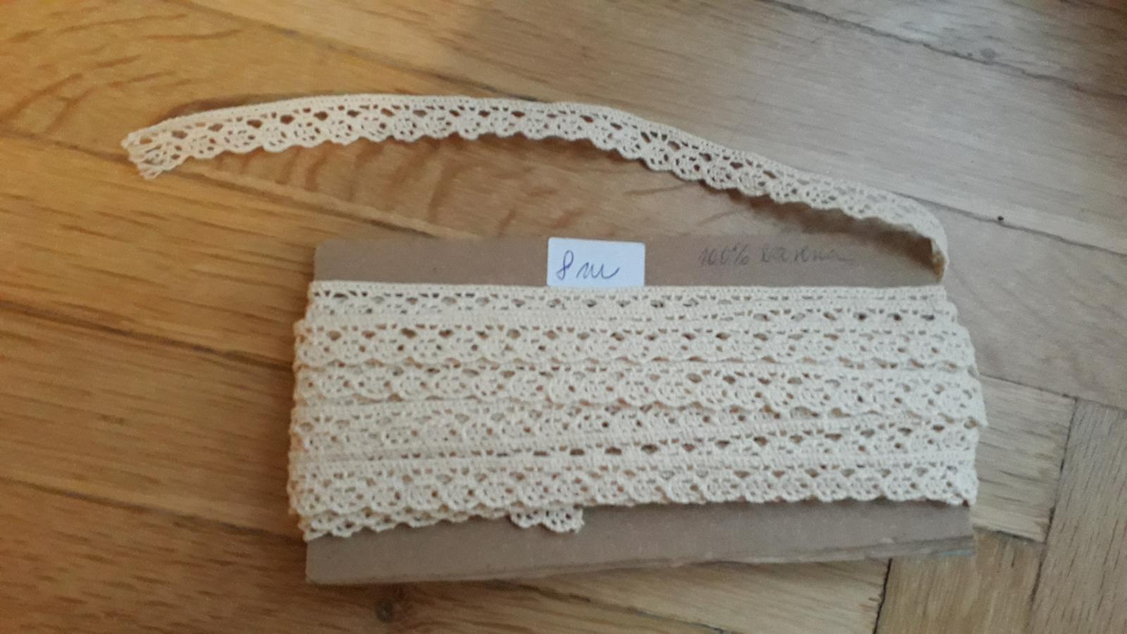 Čipka bavlnená - Obrázok č. 1