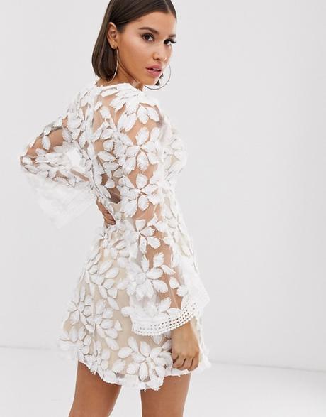 Spoločenské / popolnočné svadobné šaty, veľ. 34 - Obrázok č. 1