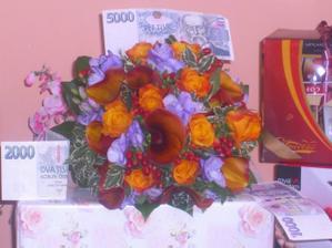 svatební kytice :-)