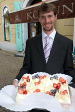 vynikající dortík z Koruna Pralines