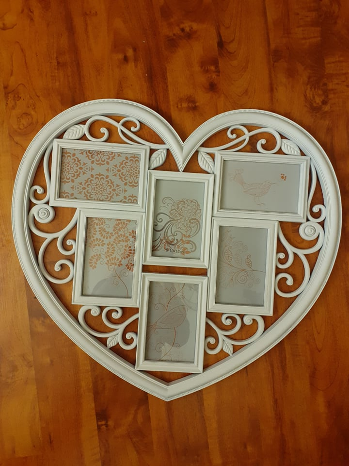 "Fotorámik ""My Heart"" (na 6 ks fotografií) - Obrázok č. 1"