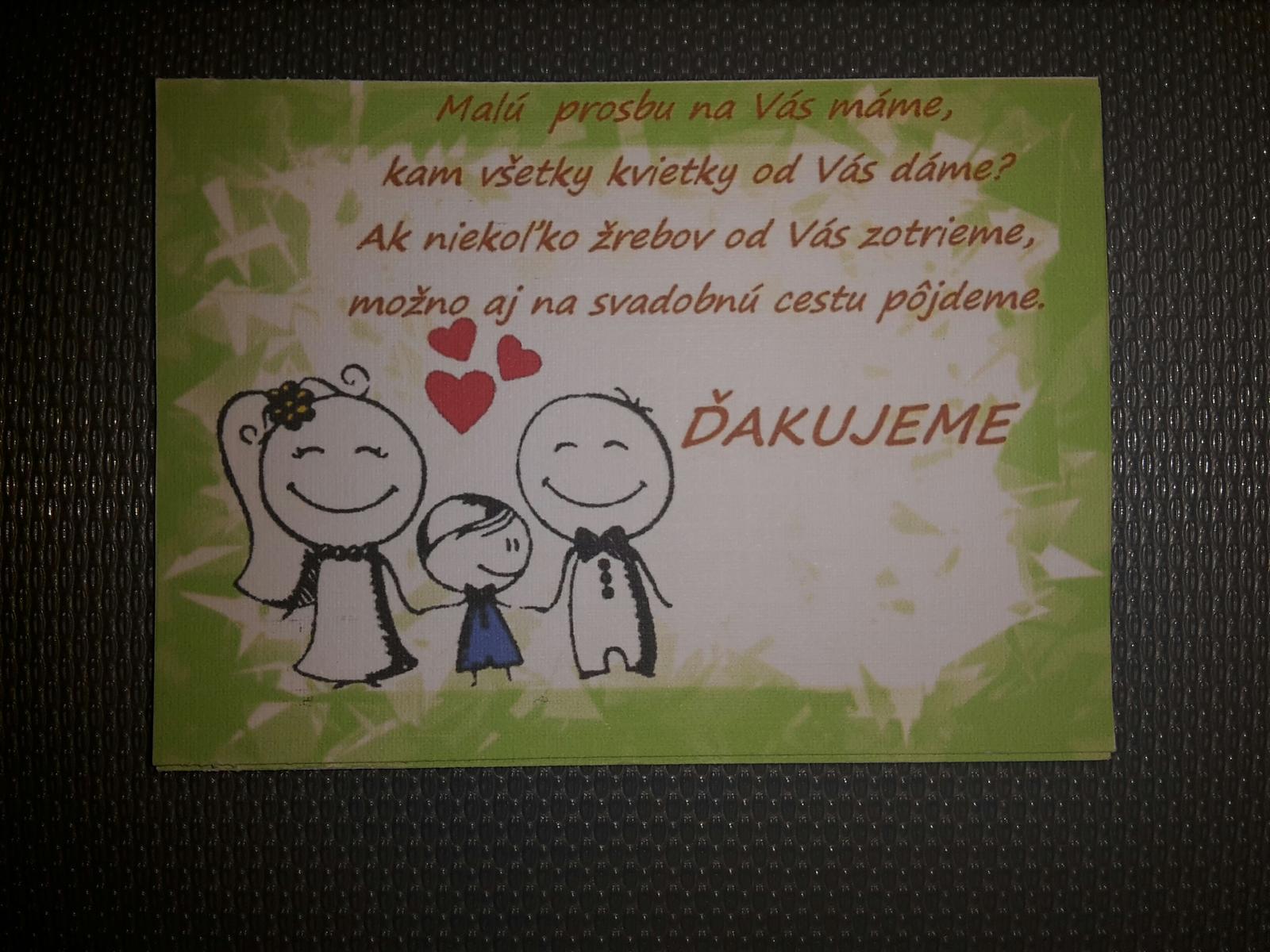 My máme svadbu o... - Obrázok č. 1