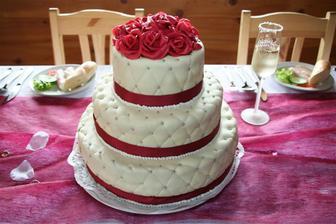 vítězný dortík,Petruška nám ho vyrobila ještě hezčí než na obrázku-šikulka :-)