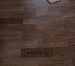detail spodní chodby - dlažba Rako kolekce Chateau