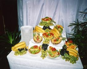 ... skvělá možnost, když je svatba v létě:)