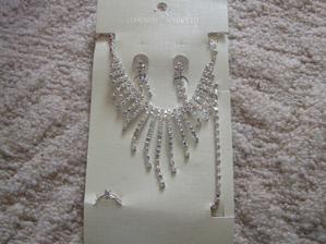 Něco nového - náhrdelník, náušnice, náramek, prstýnek