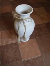 Váza na svatební stůl
