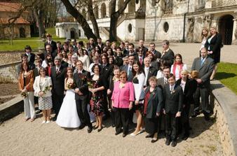 Naši svatebčané. A že jich bylo!