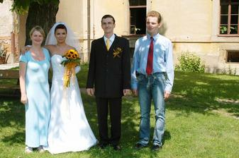můj miláček dvojčátko Evička(evcafrank) s manželem Tomikem:-)