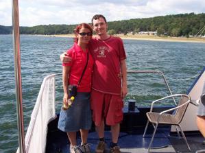 v polovině naší svatební cesty jsme se dozvěděli,že jsme těhotný,tady už jsme 3:-)