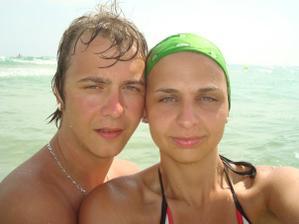 Tak to jsme my dva, toho času na dovolené ;-)