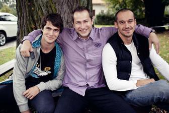 asistenti pri fotení :)))