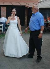 s tátou po tanci s rodiči