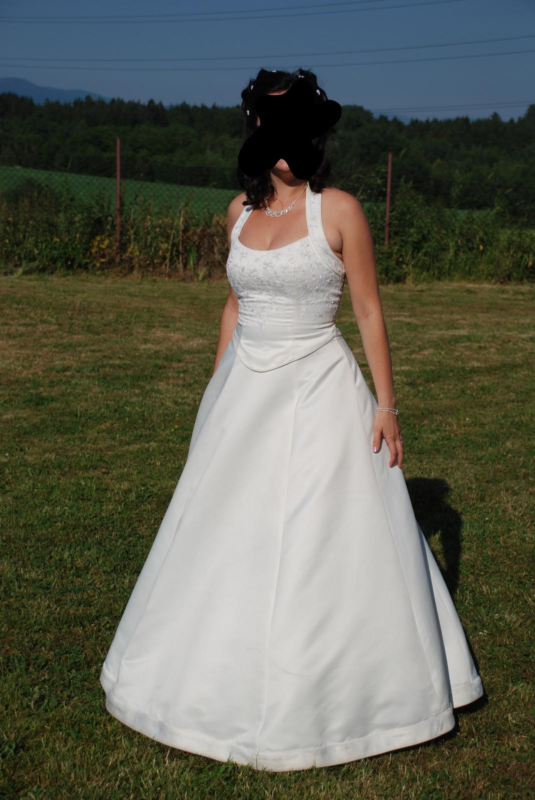Svatební šaty - slonová kost - Obrázek č. 1