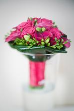 ze svatební kytice jsem byla nadšená