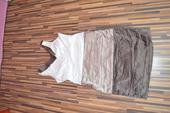 Puzdrové šaty s perličkami, 44