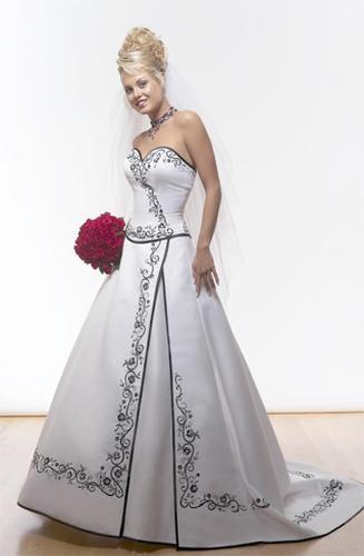 Necha sa niekto vyprovokovat? - Netypicke svadobné šaty II. - Obrázok č. 33