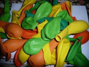 balony na vyzdobu