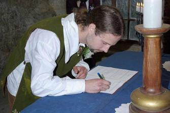 jeden nacvičený podpis