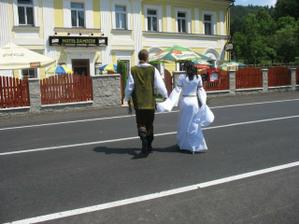 z hradu na Zámeček - hmm:-)