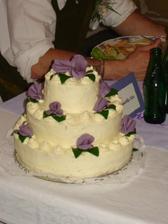 dortík - skvělá práce nevěstiny maminky