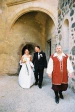 šťastní novomanželé:o)