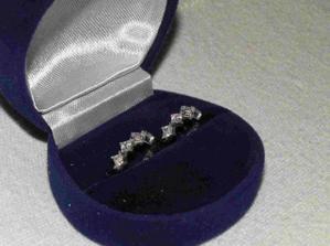 Svatební naušničky