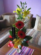 takto ma prekvapil moj manžel na I. výročie (22.9.2008)