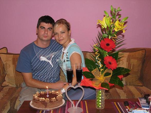 Zuzka{{_AND_}}Maťko - my dvaja po roku :) (22.9.2008)